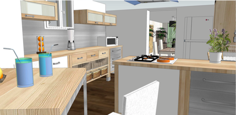 Interiors concepts r alise l 39 am nagement de votre cuisine for Agencement cuisine toulouse
